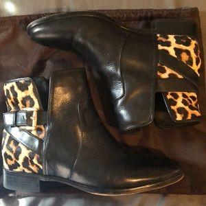 Michael Kors animal print boots